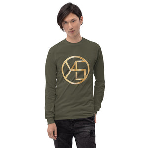 Men's Long Sleeve Shirt | Gold
