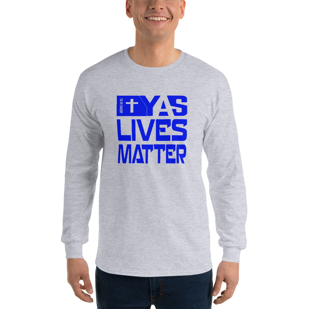 Men's Long Sleeve Shirt | Blue