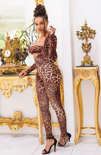Donatella Catsuit in Leo