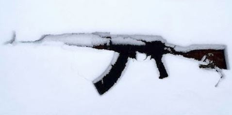 AK-47 in the Snow