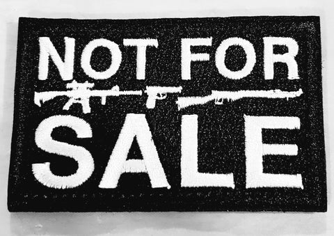 NOT FOR SALE Patch