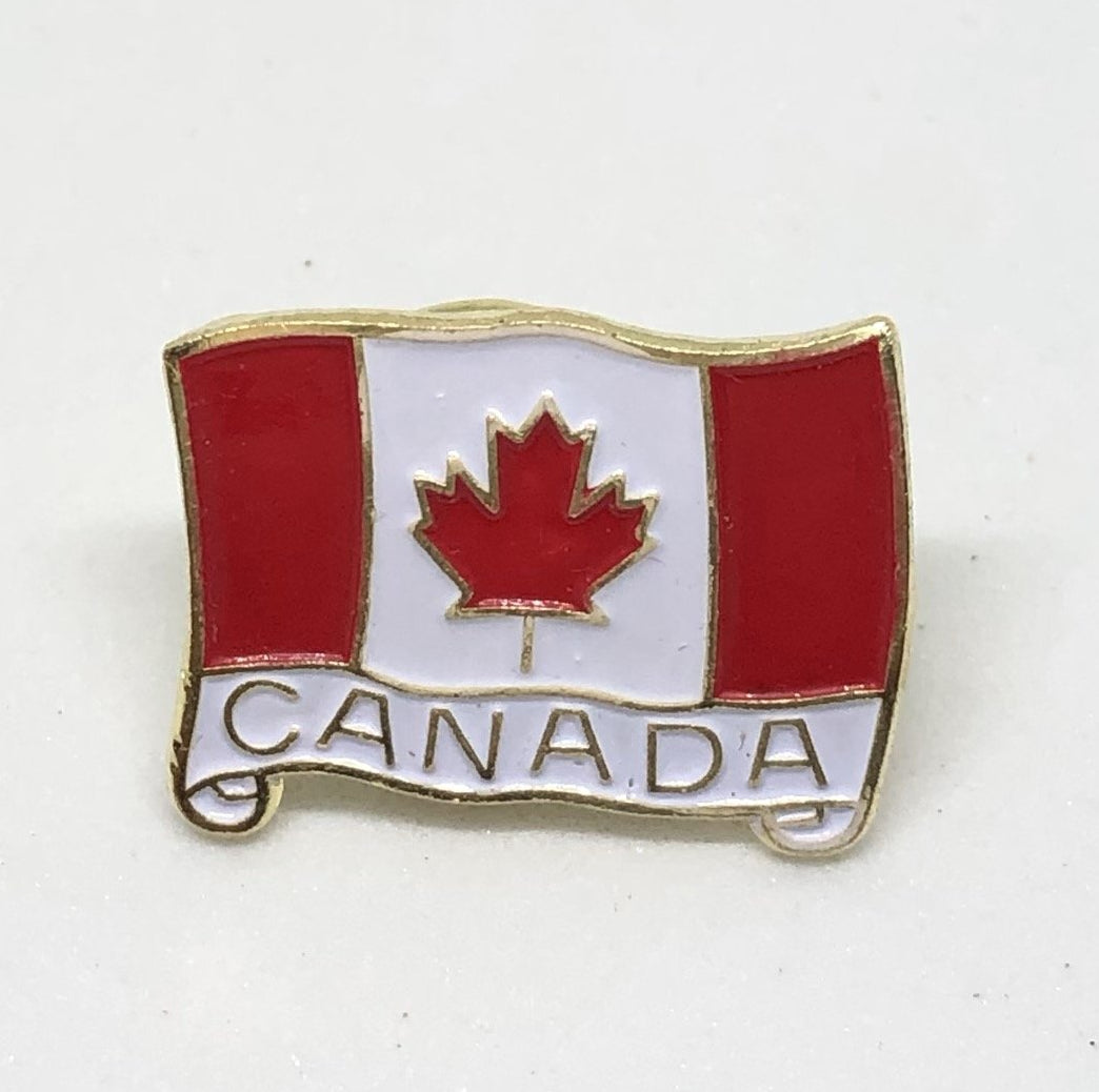 Quality Canadian Flag Pin