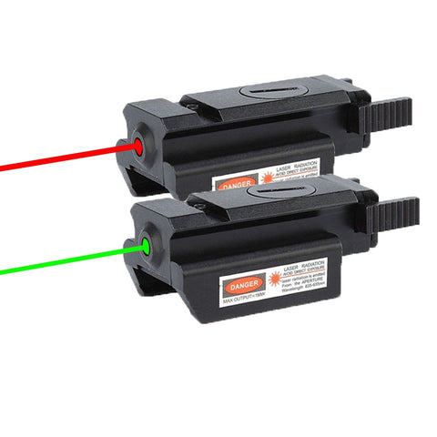 Wilson Class IIIA Red or Diode Laser Sight with Built-In Mount & Rail