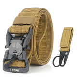 Hi-Strength Canvas Fiber Belt with Magnetic Buckle