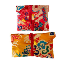 Load image into Gallery viewer, Dragon Brocade Book Bag Cover