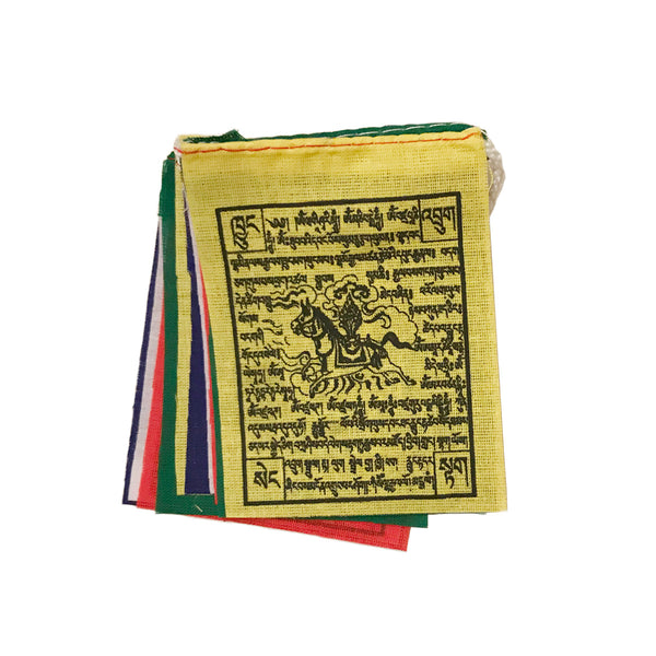 "3.5"" Wind Horse Prayer Flags"