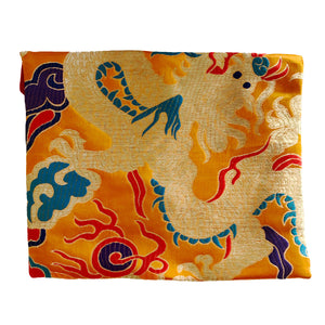 Dragon Brocade Book Bag Cover