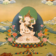 Load image into Gallery viewer, Hand-painted Heruka Vajrasattva with Consort