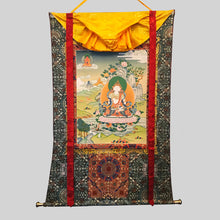 Load image into Gallery viewer, Hand-painted Vajrasattva Thangka
