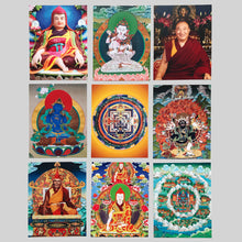 Load image into Gallery viewer, Jonang Kalachakra Ngondro Visualization Card Set