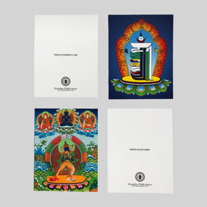 Jonang Kalachakra Ngondro Visualization Card Set
