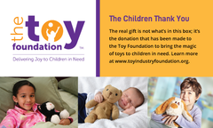 The Toy Foundation Card Insert