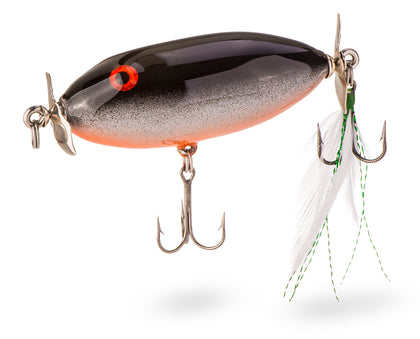 Custom Made Wood Fishing Lure: Chubby Stubby