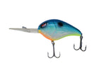 This deep diving crankbait dives between 10 to 20 feet. Custom painted in citrus shad color.