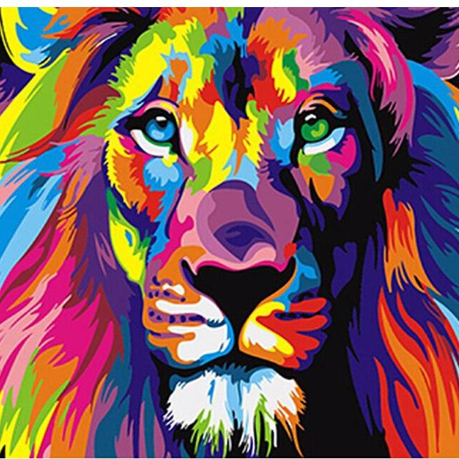 RainbowLion Paint-By-Numbers PicaShow Kit