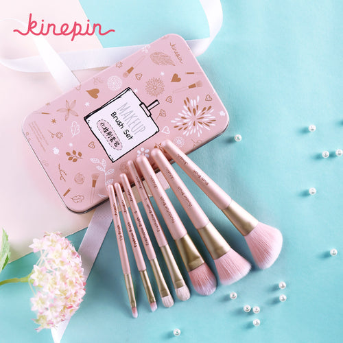 Premium Makeup Brush Set High Quality Soft Natural