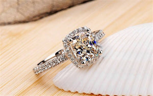 Bridal Wedding Anelli Trendy Jewellery Rings For Women