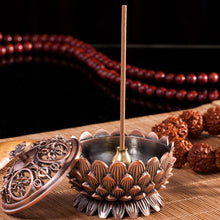 Candle Holder Buddhism Mini Tibetan Incense Burner