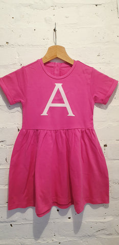 Initial Cotton Dress