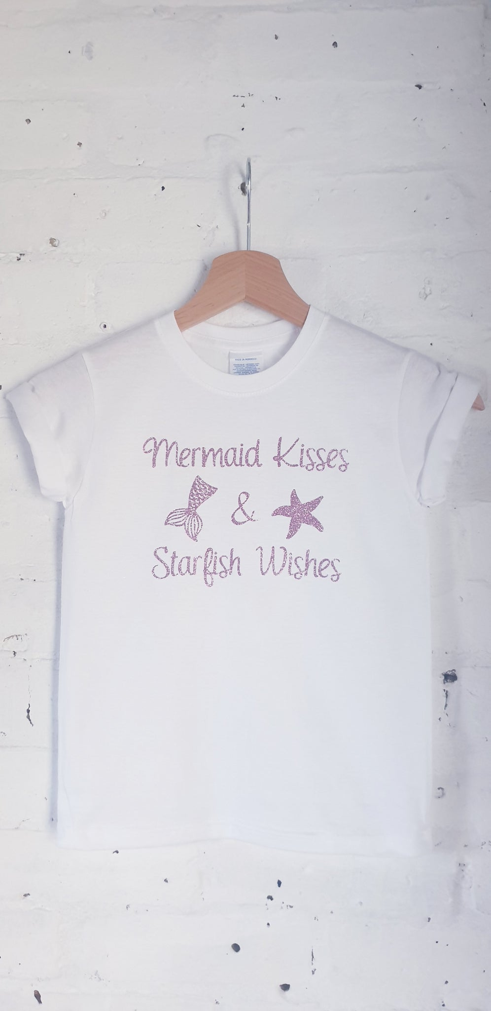 Mermaid Kisses & Starfish Wishes Tshirt