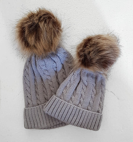 Adult & mini hat set