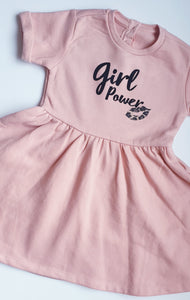 Girl Power Fleece Lined Dress
