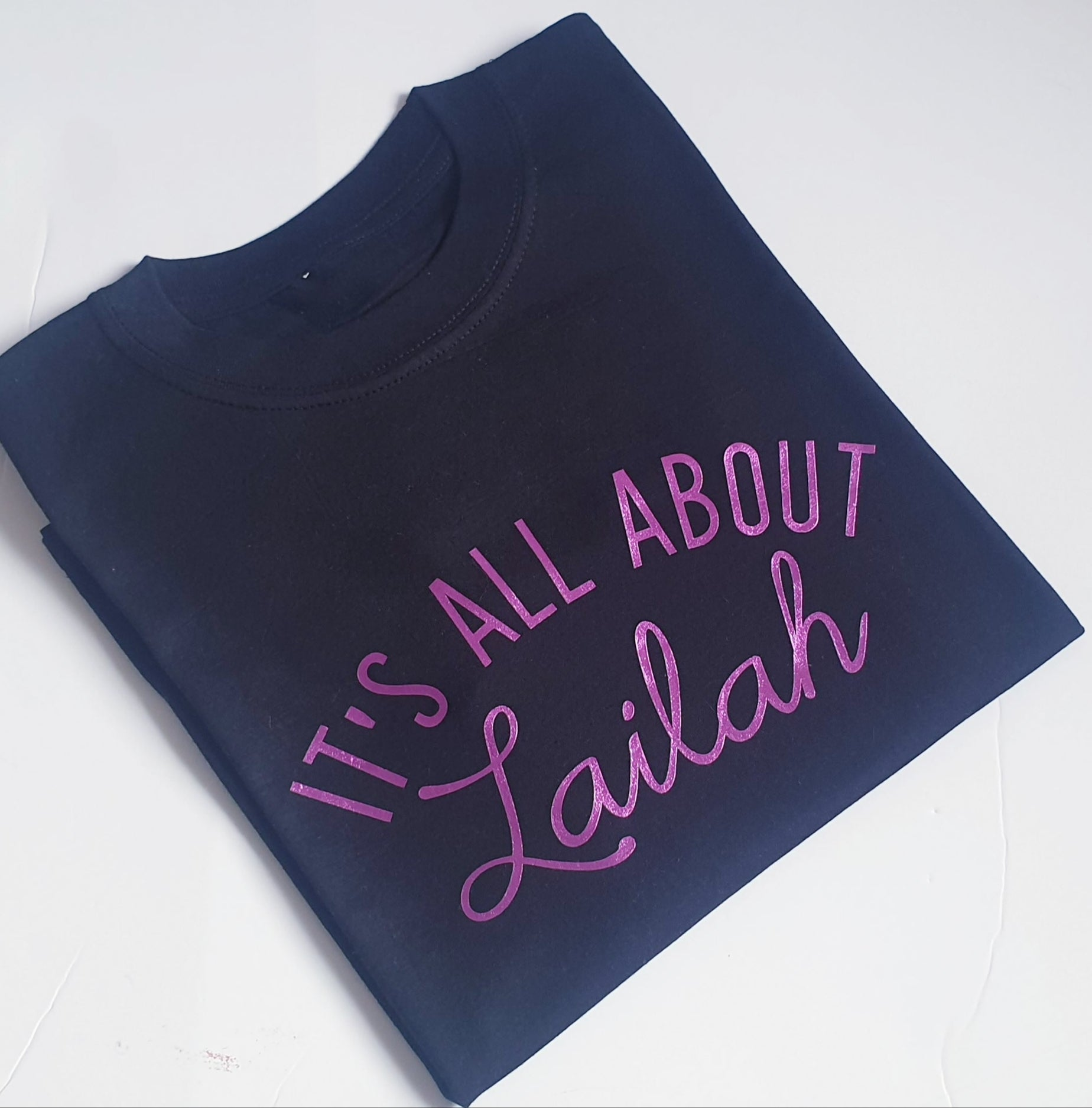 'Its all about' t-shirt