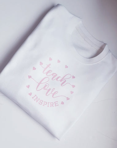 Teach Love Inspire Sweatshirt