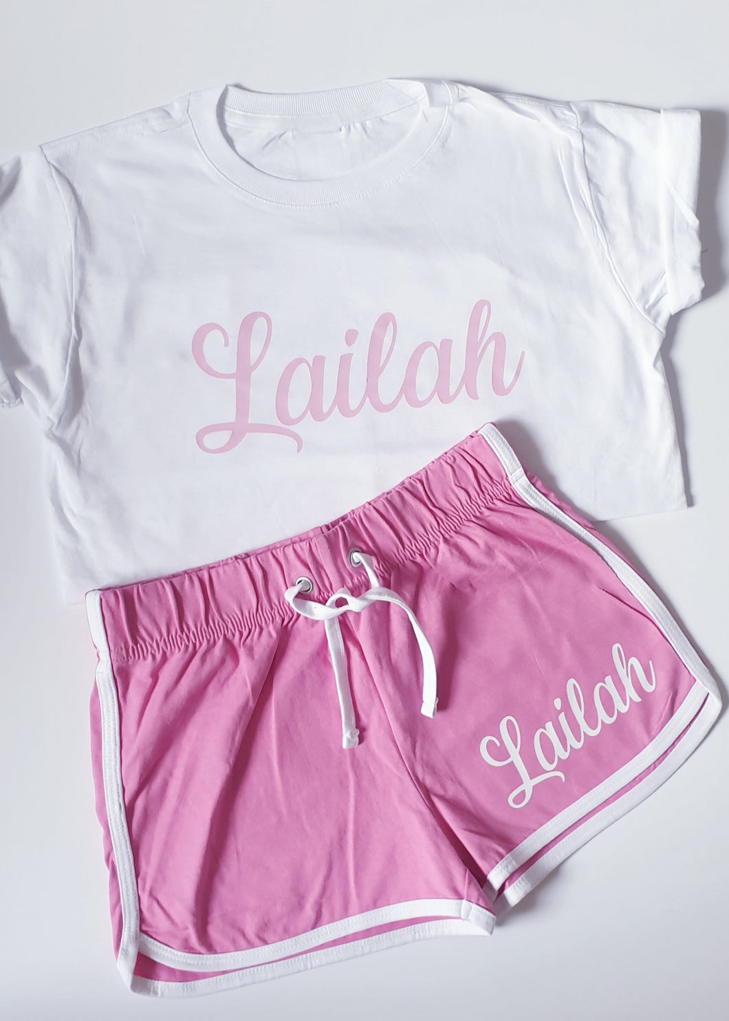 Retro Shorts & Tee Set