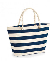 Load image into Gallery viewer, Nautical Beach Bag