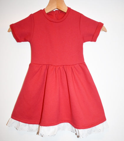 Fleece Lined Tee Dress
