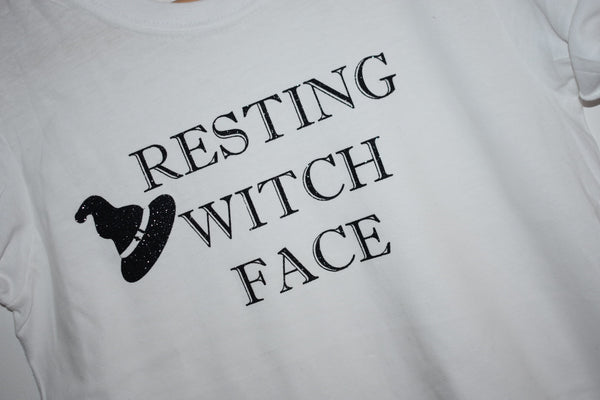Resting Witch Face Tee