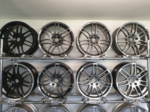 Alloy Wheel Refurbishment With Detail
