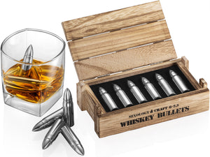 Whiskey chilling bullets