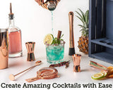 Copper Cocktail making kit