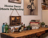 HOME DECOR MEETS BARTENDING