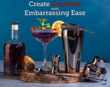 Balck Home Bartending Kit