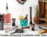 Black Cocktail making kit