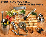 EVERYTHING YOU NEED (EXCEPT FOR THE BOOZE)