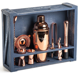 Rose-Gold Mixology Bartender Kit