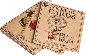 Cocktail Recipes Cards