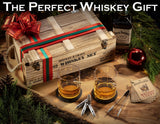 Whiskey Stones Gift Set for Men & Women with Wooden Army Crate and 6 Stainless Steel Whiskey Bullets