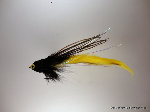 Bunny Tail Andino Deceiver - Black Yellow  AD001BT