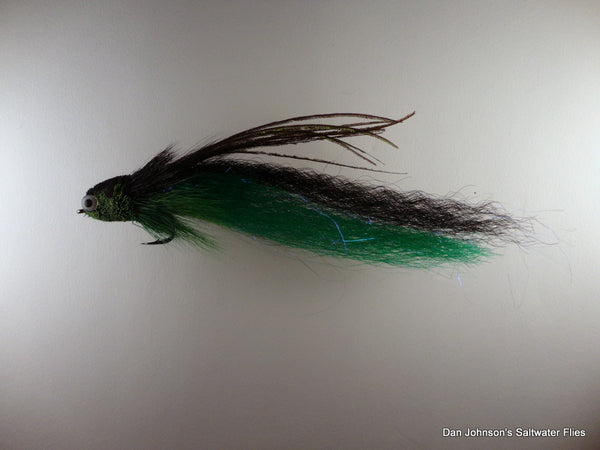 Flat Nose Andino Deceiver - Green Black , Synthetic AD210