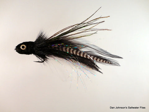 Andino Deceiver - Black Grizzly, Hackle  IF016GR