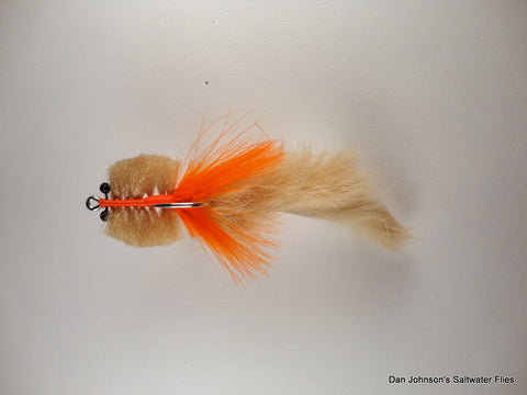 Bunny Tail Toad - Tan Orange Tan CB0048