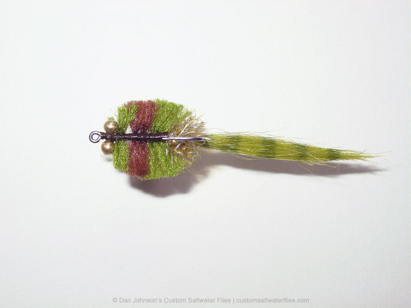 Redfish Kwan, Olive Brown Variation - CB029