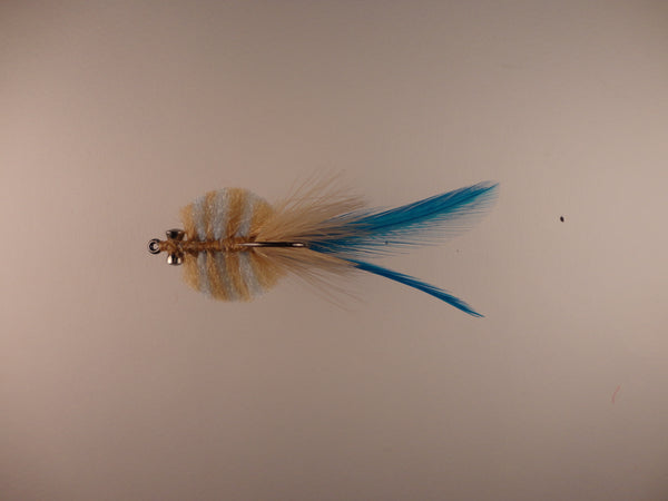 Louisiana Redfish Crab Tan Light Blue CB038