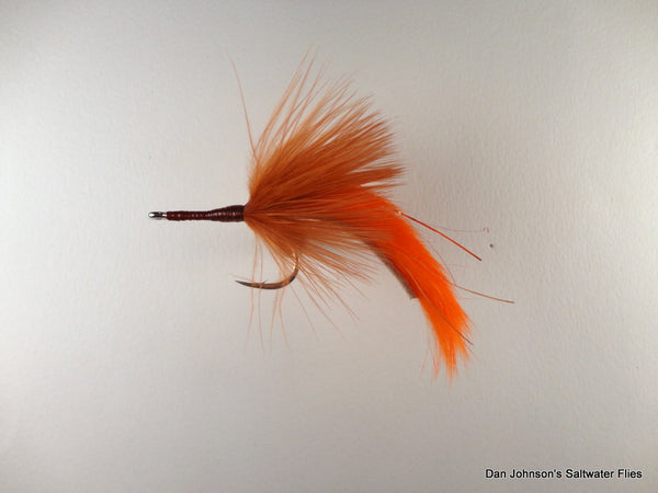 Marabou Bunny - Rusty Brown Orange TP035A