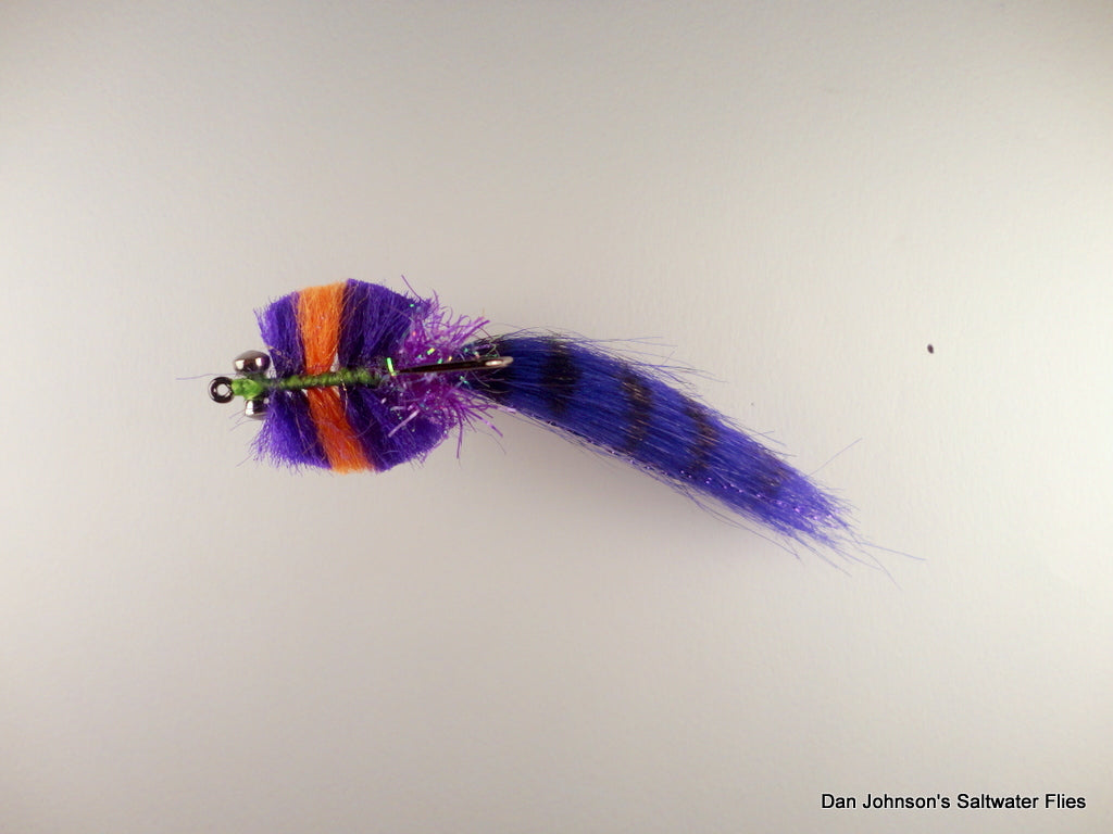 Georgia Redfish Kwan, Purple Orange - CB033